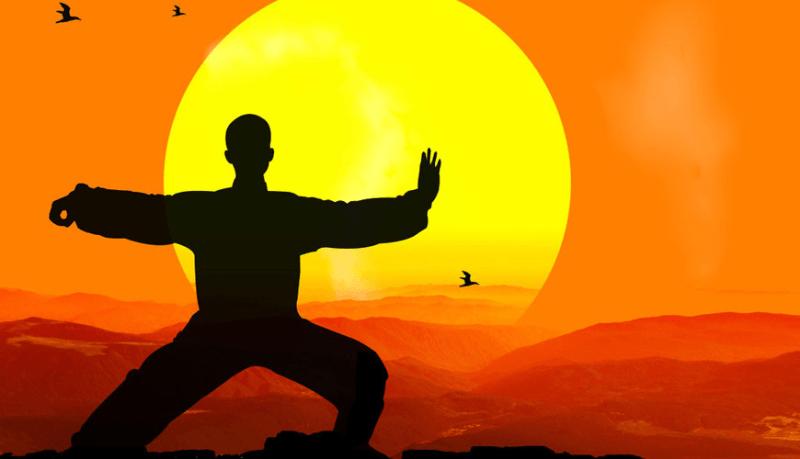Tai-Chi-tramonto